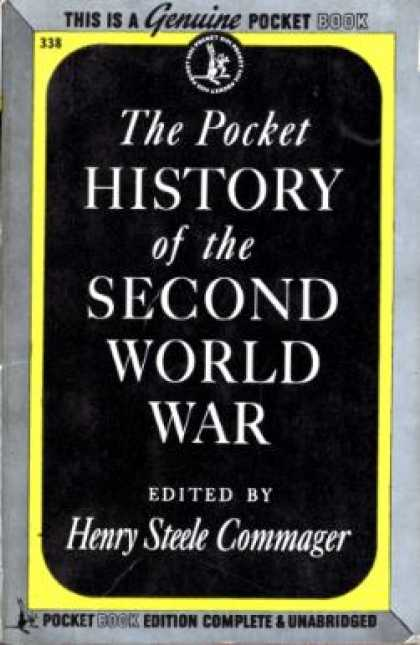 Pocket Books - The Pocket History of the Second World War - Henry Steele Commanger