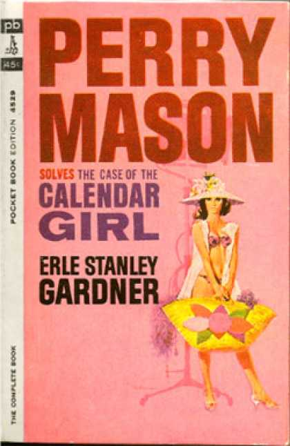 Pocket Books - Perry Mason Solves the Case of the Calendar Girl