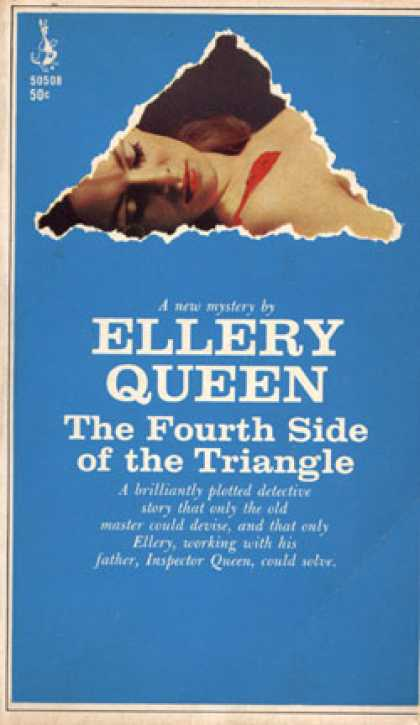 Pocket Books - The Fourth Side of the Triangle - Ellery Queen
