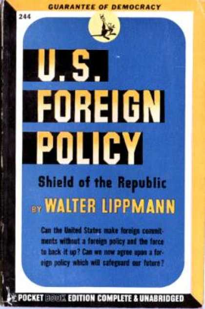 Pocket Books - U.s. Foreign Policy: Shield of the Republic,