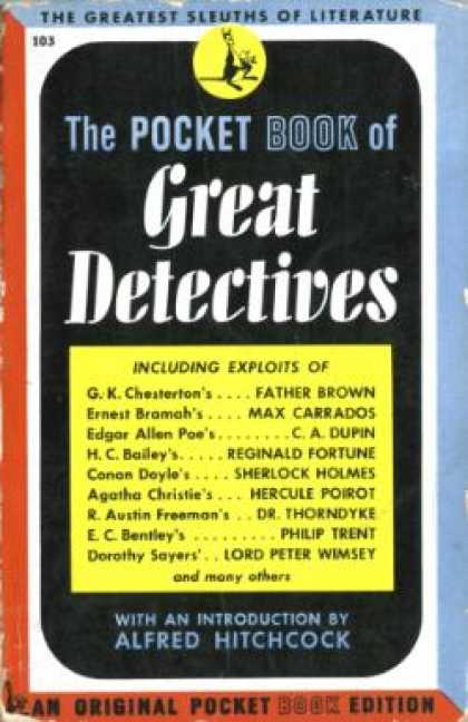 Pocket Books - The Pocket Book of Great Detectives - Lee Wright