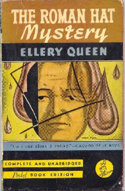Pocket Books - The Roman Hat Mystery - Ellery Queen