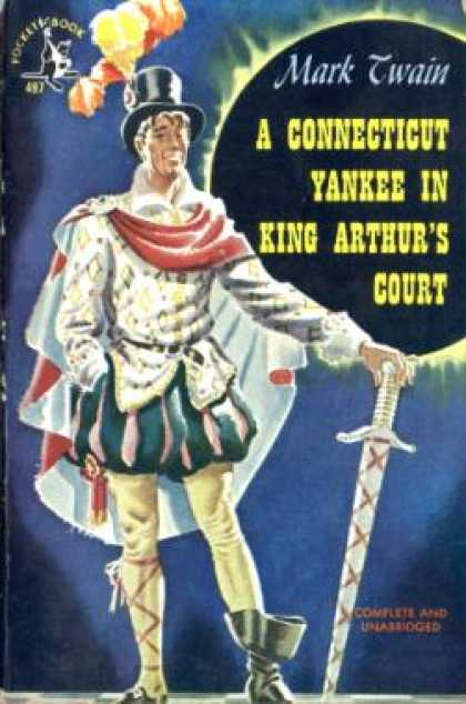 Pocket Books - A Connecticut Yankee In King Arthur's Court