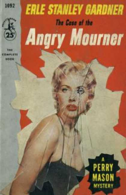 Pocket Books - The Case of the Angry Mourner - Erle Stanley Gardner