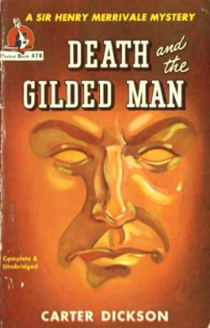 Pocket Books - Death and the Gilded Man - Carter Dickson