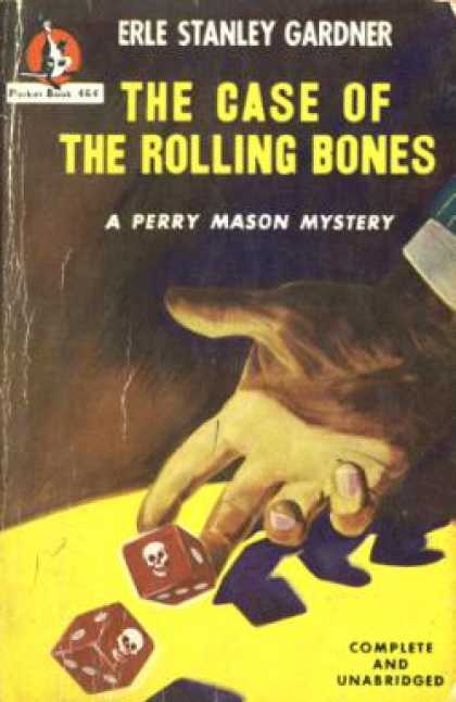 Pocket Books - The Case of the Rolling Bones (vintage Pocket Bk #464) - Erle Stanley Gardner