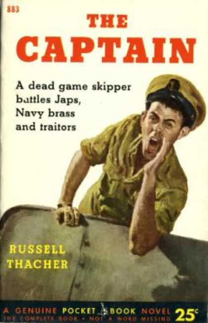 Pocket Books - The Captain - Russell Thacher
