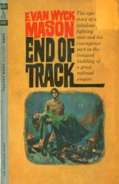 Pocket Books - End of Track - Evan Wyck Mason