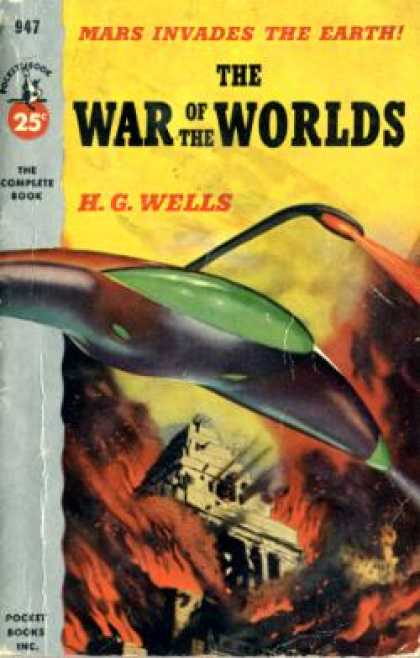 Pocket Books - The War of the Worlds - H. G. Wells