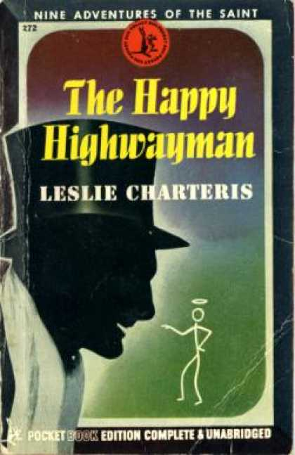 Pocket Books - The Happy Highwayman: Some Further Adventures of the Saint - Leslie Charteris