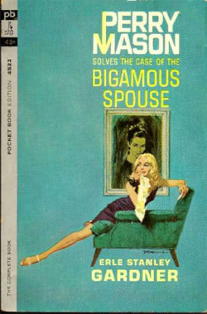 Pocket Books - Perry Mason Solves the Case of the Bigamous Spouse - Erle Stanley Gardner