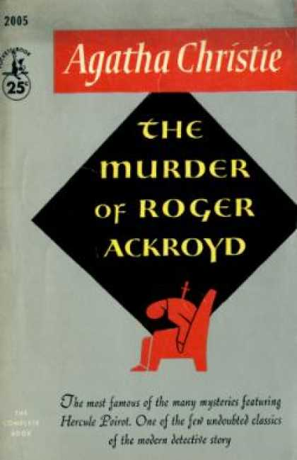 Pocket Books - The Murder of Roger Ackroyd - Agatha Christie