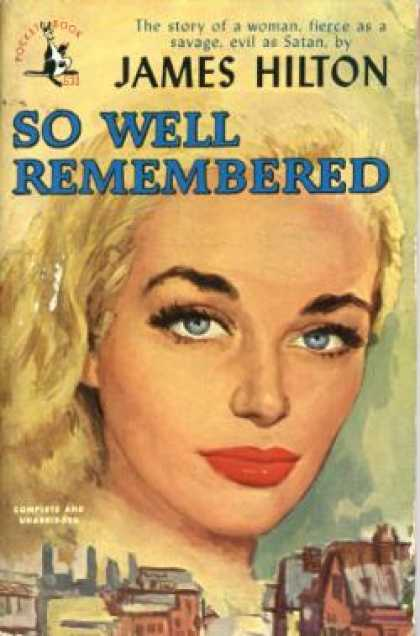 Pocket Books - So Well Remembered - James Hilton