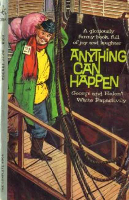 Pocket Books - Anything Can Happen By George and Helen Waite Papshvily