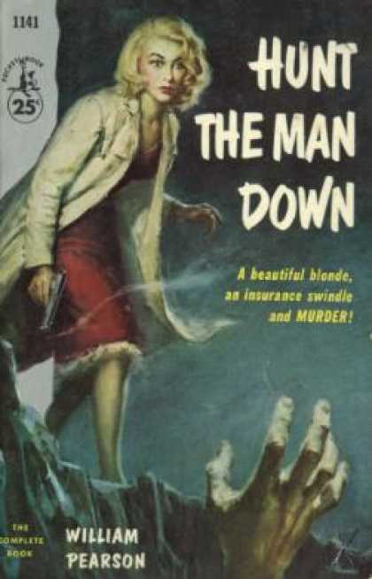 Pocket Books - Hunt the Man Down - William Pearson