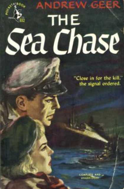 Pocket Books - The Sea Chase - Andrew Geer