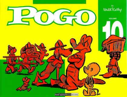 Pogo 10 - Crocodile - Dogs - Fire Hats - Ladder - Axe