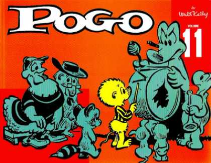 Pogo 11 - Chicken - Crocodile - Turtle - Walt Kelly - Orchestra