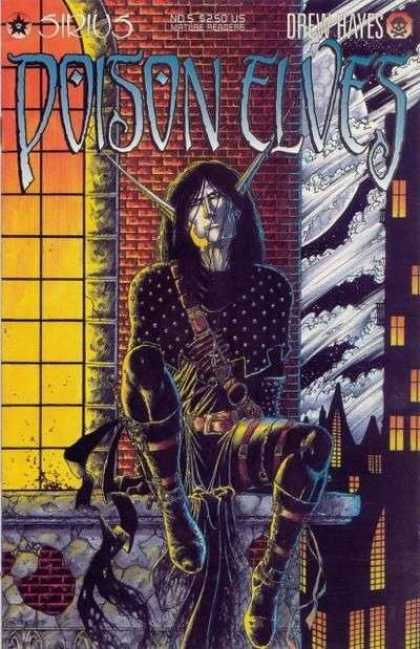 Poison Elves 5 - Drew Hayes - Man - Moon - Window - Sirius