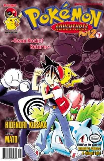 Pokemon Adventures Covers