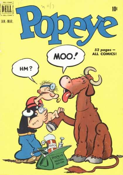 Popeye 15 - Dell - Jan-mar - Hm - Moo1 - Animal Doctor
