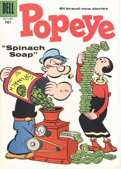 Popeye 41 - The Inventor - The Green God - How To Become Superhuman - Best Thing In The World - Helping Girlfriend Out