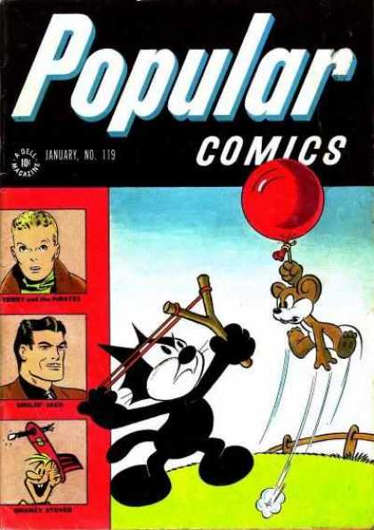 Popular Comics 119 - January - Dell - Magazine - 10c - No 119