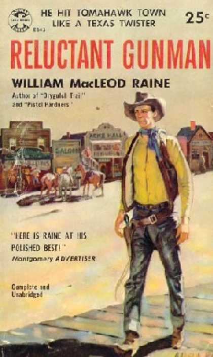 Popular Library - Reluctant Gunman - William MacLeod Raine