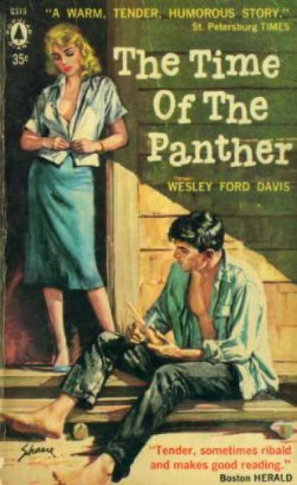 Popular Library - The Time of the Panther