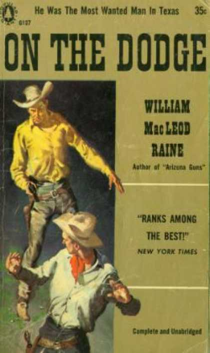 Popular Library - On the Dodge - William Macleod Raine