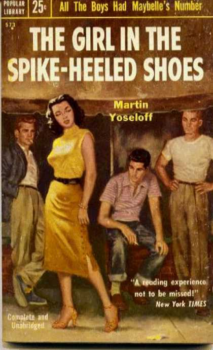Popular Library - The Girl In the Spike-heeled Shoes - Martin Yoseloff