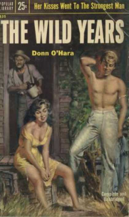 Popular Library - The Wild Years - Donn O'hara