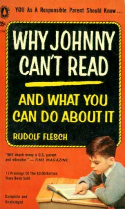 Popular Library - Why Johnny Can't Read: And What You Can Do About It - Rudolf Flesch