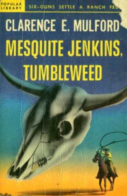 Popular Library - Mesquite Jenkins, tumbleweed - Clarence E. Mulford