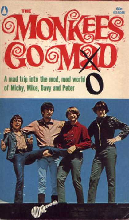 Popular Library - The Monkees Go Mod