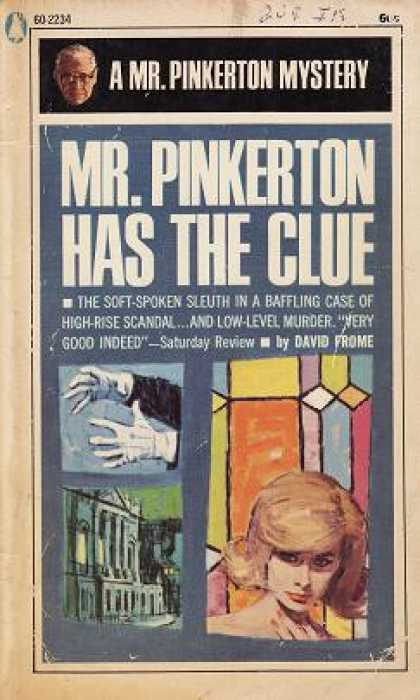 Popular Library - Mr. Pinkerton Has the Clue