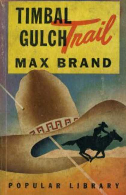 Popular Library - Timbal Gulch Trail - Max Brand