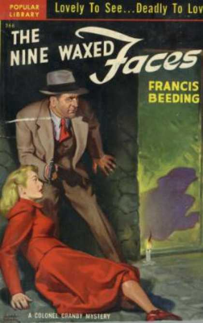 Popular Library - The Nine Waxed Faces - Francis Beeding