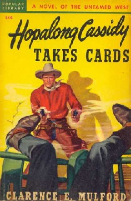 Popular Library - Hopalong Cassidy Takes Cards - Clarence E. Mulford
