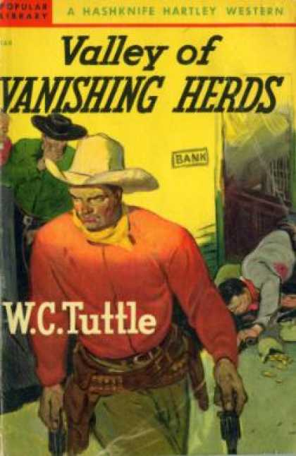 Popular Library - Valley of vanishing herds - W. C. Tuttle