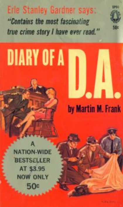 Popular Library - Diary of a D.A. - Martin M. Frank