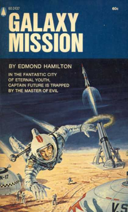 Popular Library - Galaxy Mission - Edmond Hamilton