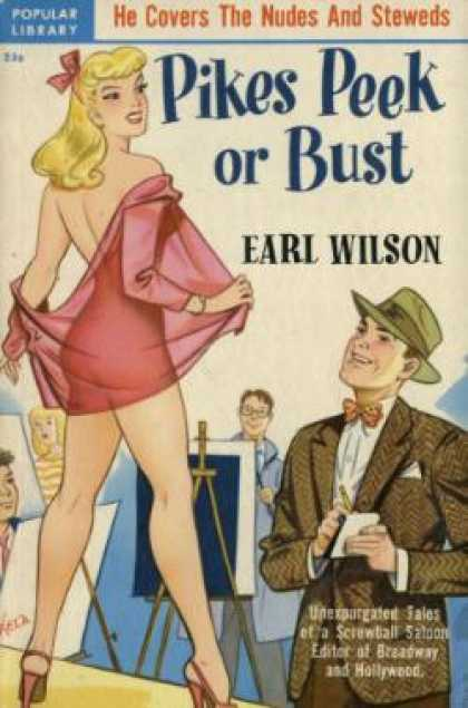 Popular Library - Pikes Peek or Bust - Earl Wilson