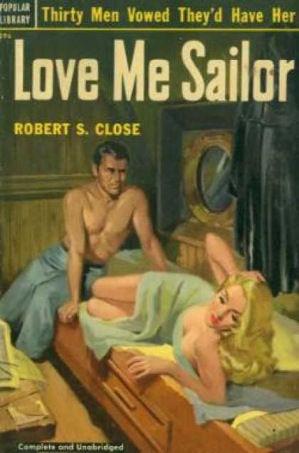 Popular Library - Love Me Sailor - Robert S. Close