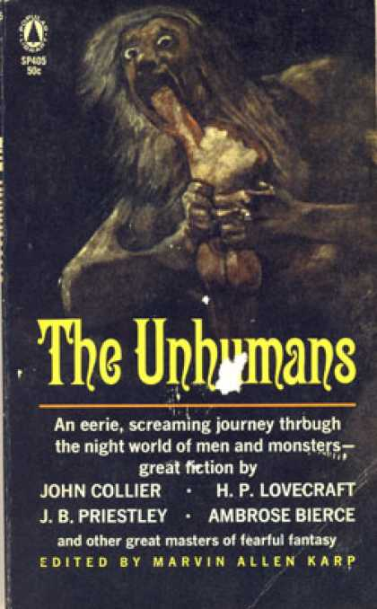 Popular Library - The Unhumans - Marvin Allen Karp