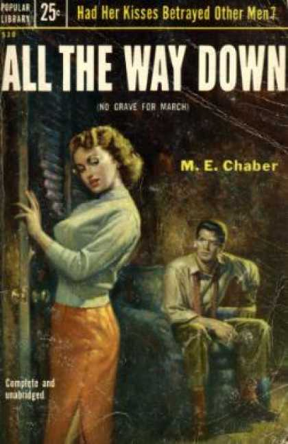 Popular Library - All the Way Down - M. E. Chaber