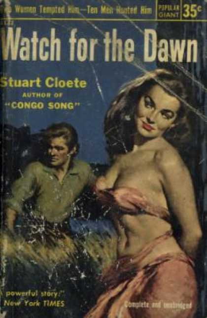 Popular Library - Watch for the Dawn - Stuart Cloete