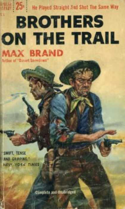 Popular Library - Brothers On the Trail - Max Brand