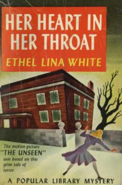 Popular Library - Her Heart In Her Throat - Ethel Lina White