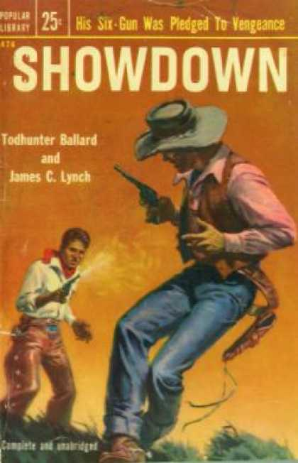 Popular Library - Showdown - Todhunter Ballard